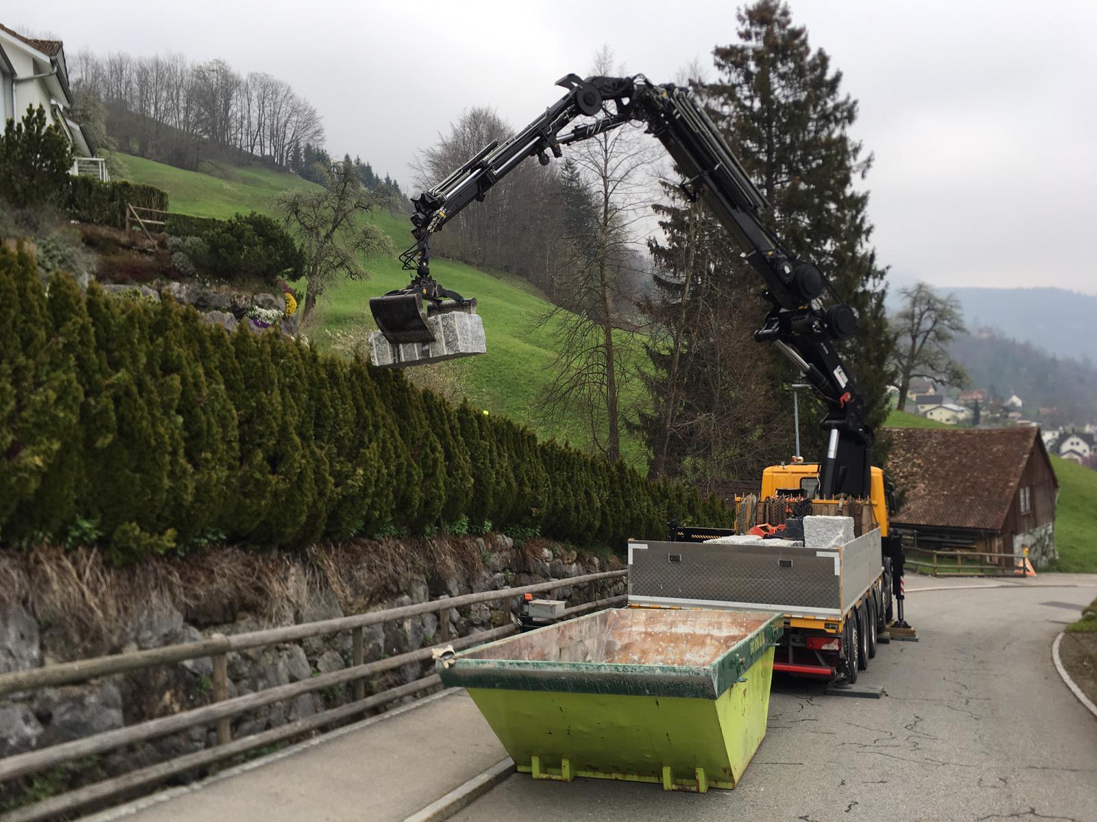 Käppeli Strassen- und Tiefbau AG, Garten Weidhuobli Schwyz