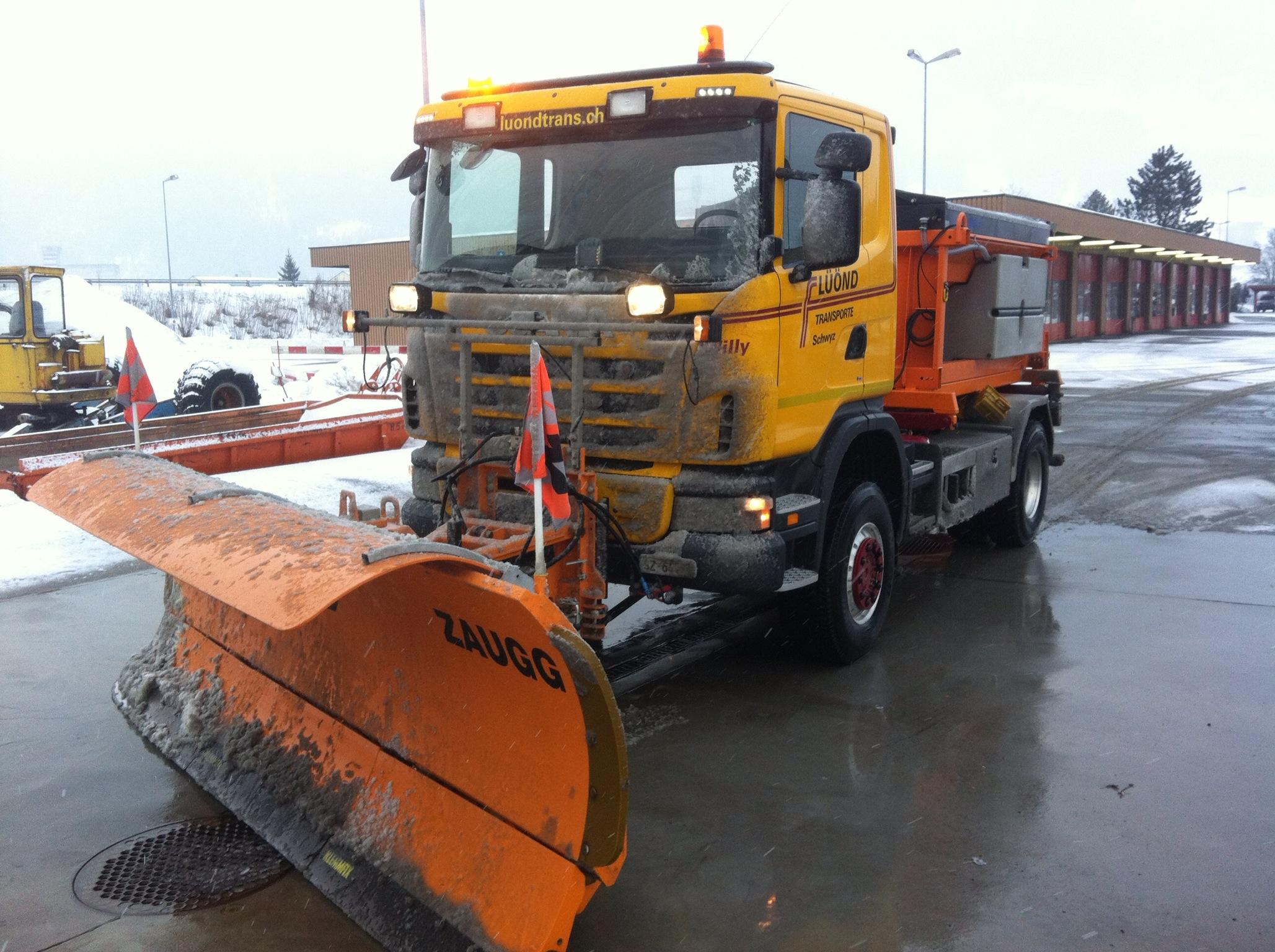 Winterdienst auf A4