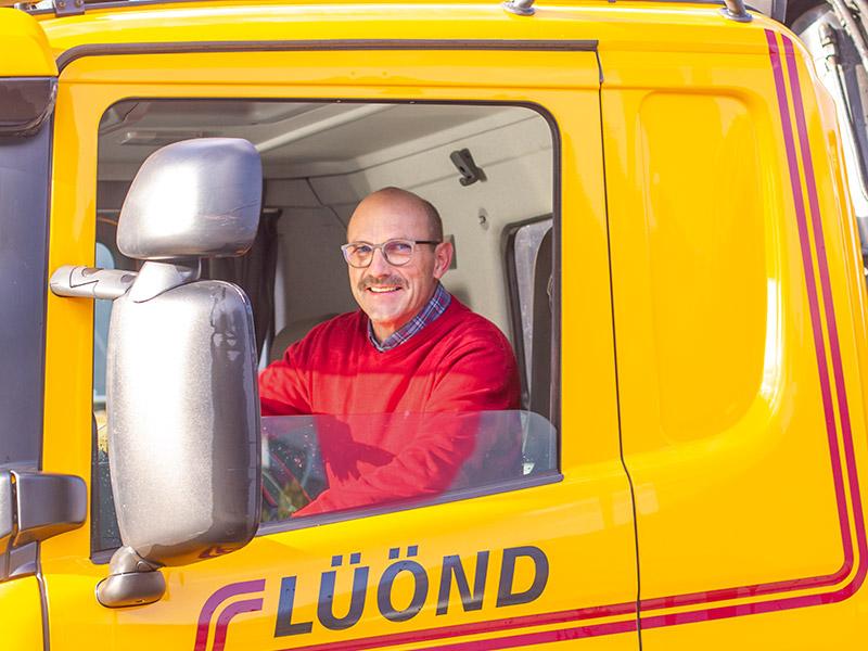Luond-Transport-AG-Ibach-Schwyz-Mitarbeiter-Franz-Luond