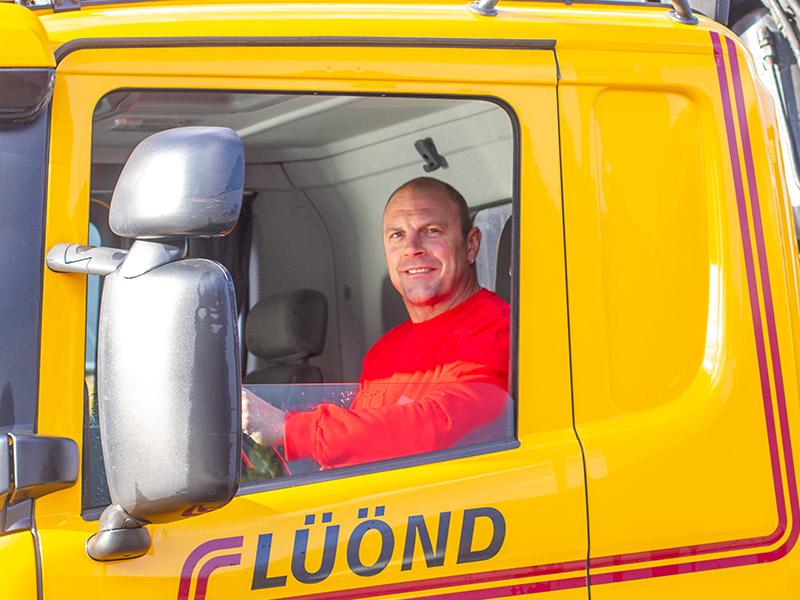 Luond-Transport-AG-Ibach-Schwyz-Mitarbeiter-Fredy-Doerig